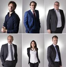 Portraits Corporate réalisé en studio, 2015 à Bordeaux.