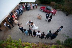 Le mariage de Jessica et Jérome Jessica & Jérome, se sont dit oui, le 25 août 2018 au Domaine Branda, près de Bordeaux.