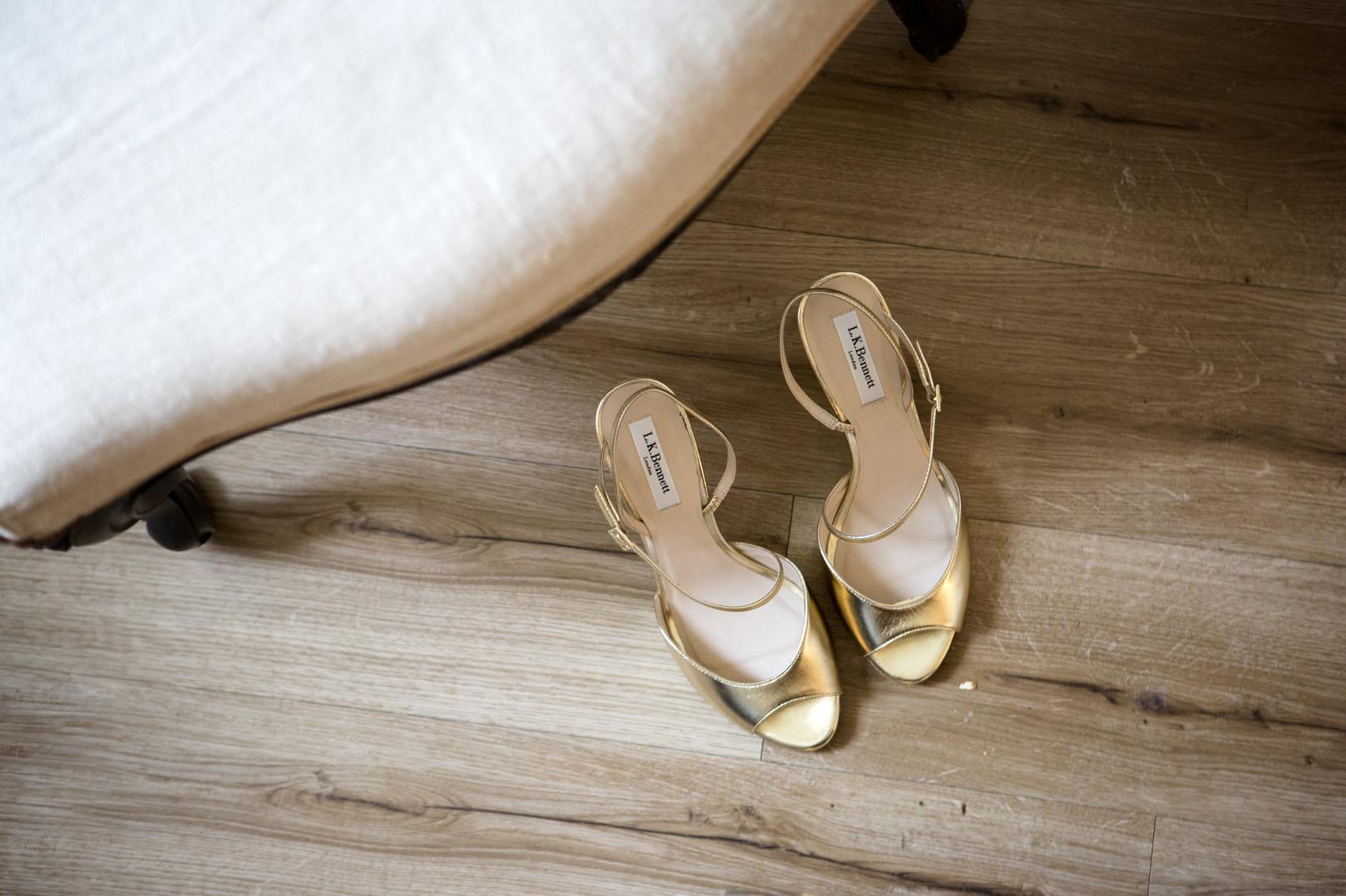 les chaussures de Jessie