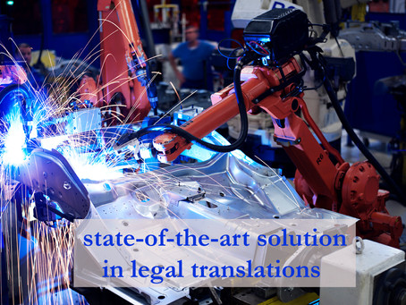 Towards writing perfect legal translations into English