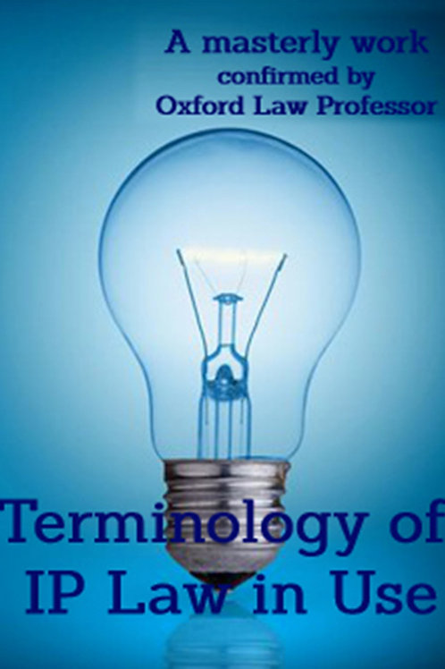 Terminology of Intellectual Property Law in Use -  ein PDF ebook