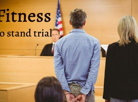 Fitness to stand trial - all related synonyms