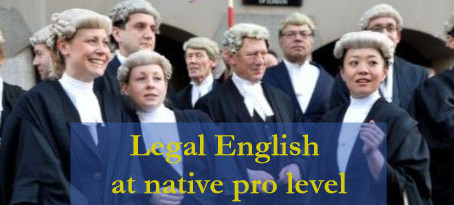 So how have native professionals learnt legal English in the first place?
