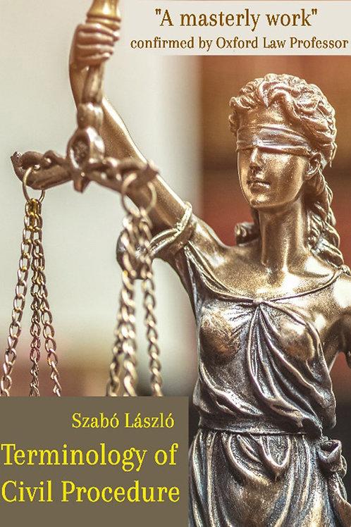 Terminology of Civil Procedure in Use - A PDF ebook