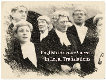 Legal Translations at their Best