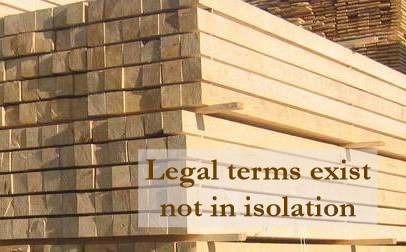 From knowing a legal term to writing top-end legal text