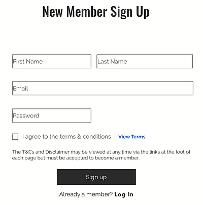 Sol Movement Help - New Member Sign Up.p
