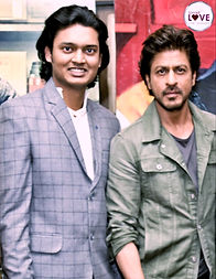 Shaleen Anand with SRK | Spread Love Universe