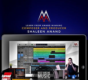 Shaleen Anand | Online Music Production