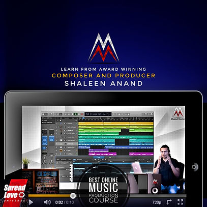 Shaleen Anand   Online Music Production