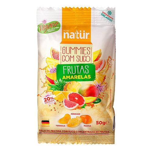 Bala Vegana De Pectina Frutas Amarelas, 50g