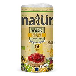 biscoito organico de milho sabor natural