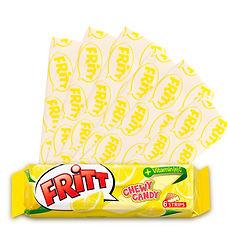 bala mastigável de fruta sabor limão 2.j