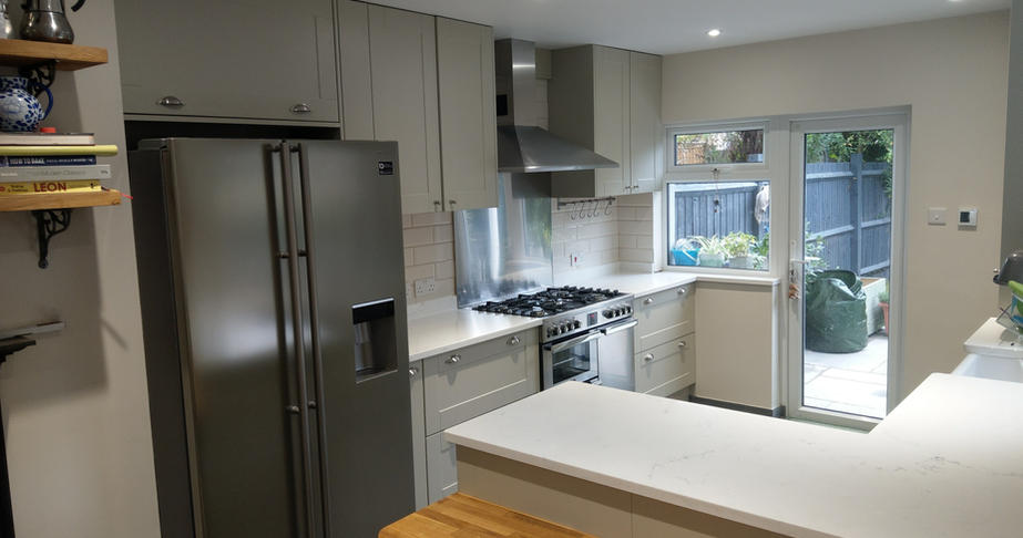 Kitchen Island in Belsize Park