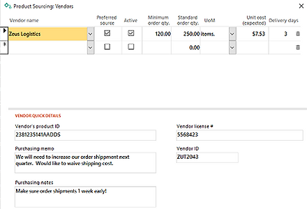 Lot Tracking Inventory Management Software