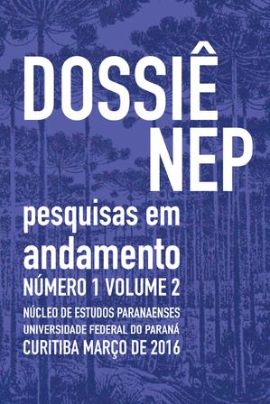 Magazine covers for the Journal of the Núcleo de Estudos Paranaenses