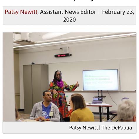 DePaul workshop bridges design and empathy