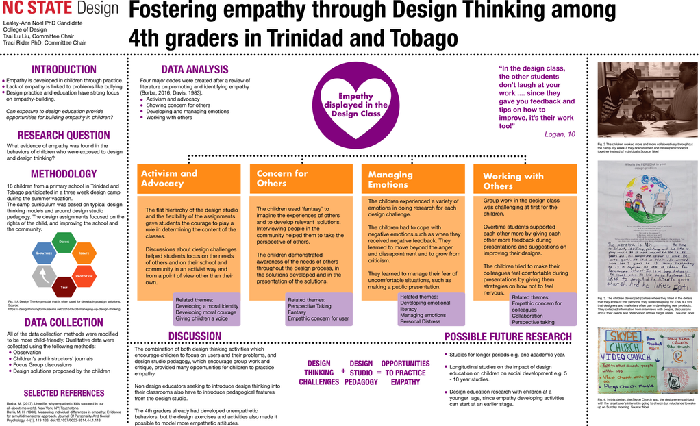 Fostering empathy through Design Thinking among 4th graders in Trinidad and Tobago