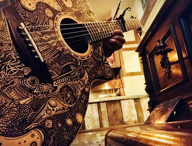 Music is my art, my guitar is art _joz_a