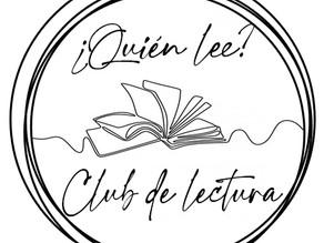 ¿Quién lee? Club de lectura - Lectura del mes de mayo