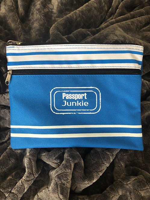 PASSPORT JUNKIE LAUNDRY/WET CLOTHES POUCH