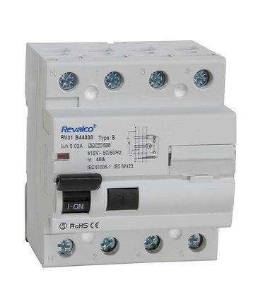 Interruptores diferenciales RV31 clase B