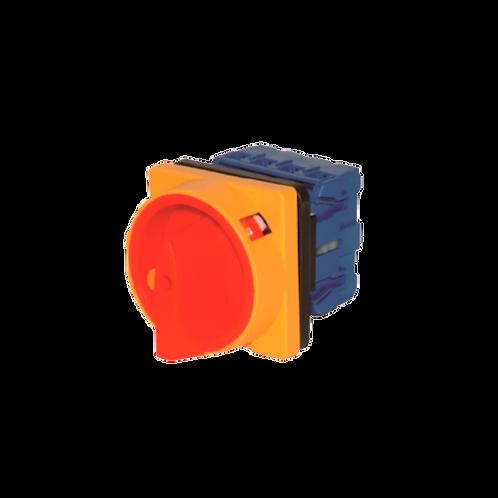 Interruptor-Seleccionador-Paro emergencia (Montaje panel)