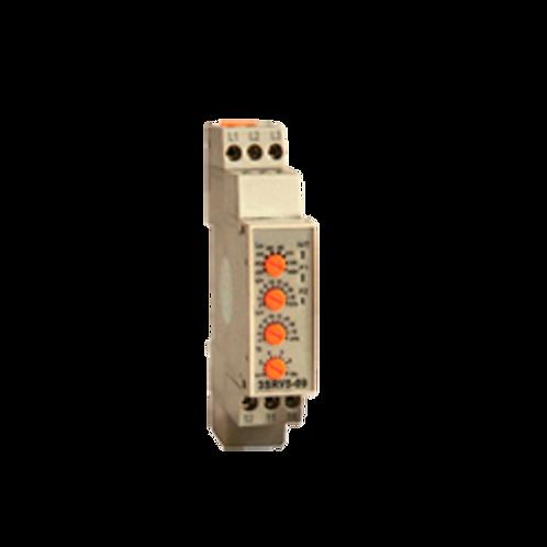 Rele control tensión trifasico para motores multitension ajustable (AC)