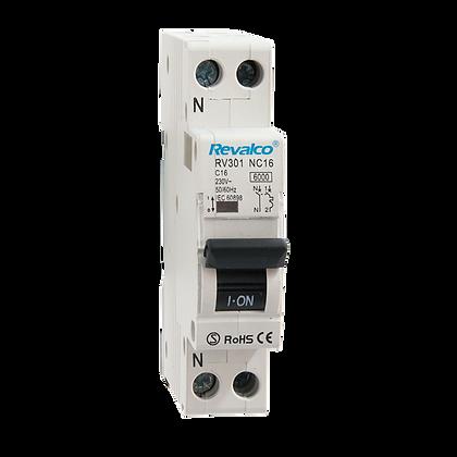 Interruptores Automáticos RV301N - 6KA - 1P+N