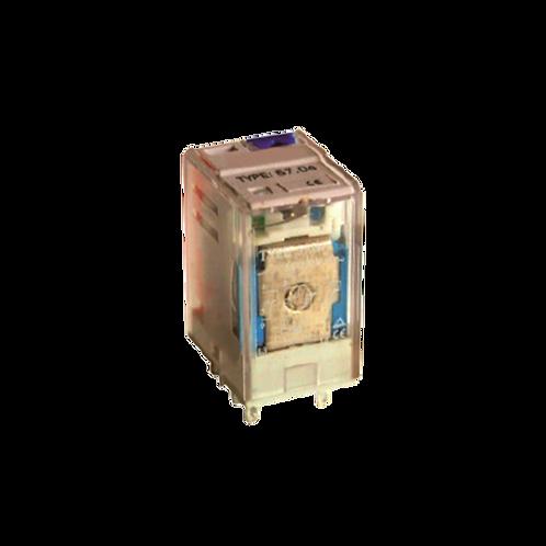 Miniatura - Con indicación luminosa, bloqueo mecánico y prueba