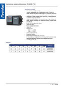 Variadores para multibombas RV5000  IP65