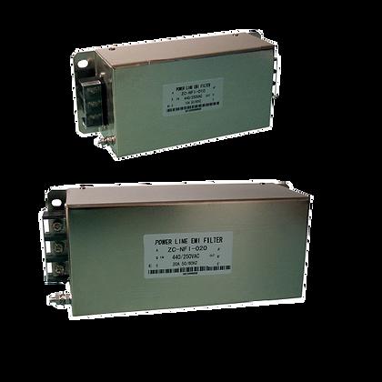 Filtros RFI a la entrada de los variadores