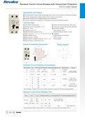 Interruptores diferenciales combinados R