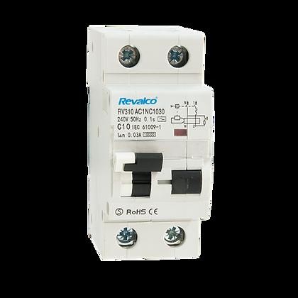 Interruptores diferenciales combinados RV310 - 10KA