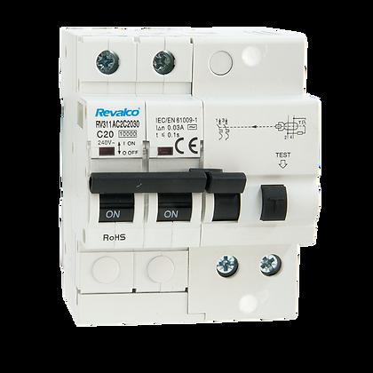 Interruptores automáticos con diferencial incorporado RV311