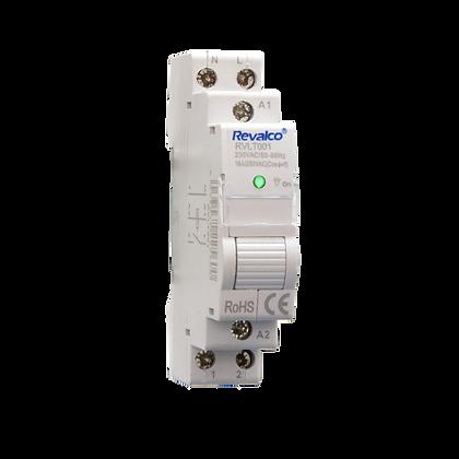 Telerruptor 1P RVLT001 para Carril DIN