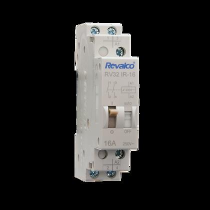 Telerruptor 2P RV32IR16 para Carril DIN
