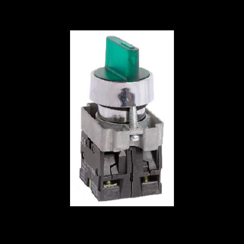 Selector luminoso RHA5 - Ø 22 mm Metálico