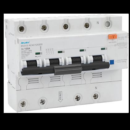 Interruptores automáticos con diferencial incorporado RV313