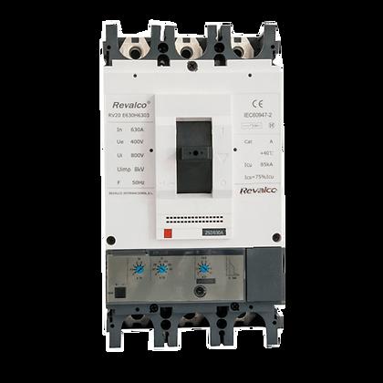 Interruptores en caja moldeada RV20 - 25A / 1600A