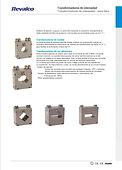 Transformadores de intensidad - serie Mi
