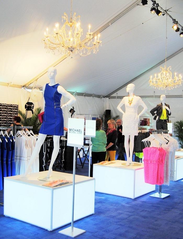 Charleston Fashion Week / Belk tent