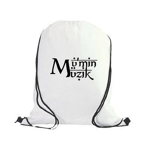 Mu'Min Muzik Drawstring Backpack