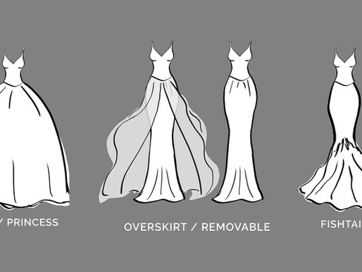 Wedding Skirts Types and Styles