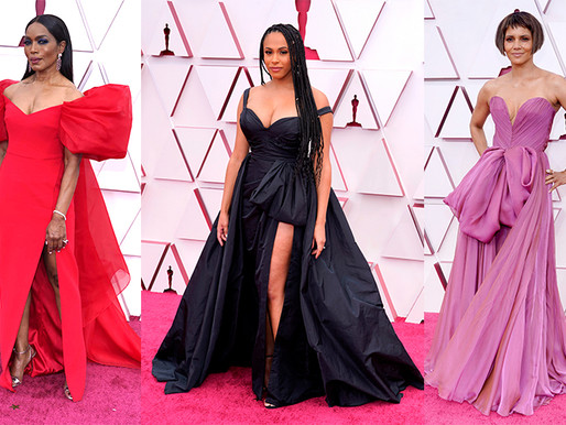 OSCARS 2021 - Red carpet gowns sewing technique review (PART 1)