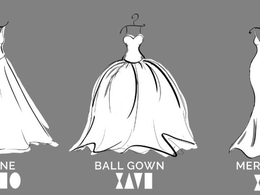 Choosing a PERFECT wedding dress. Types, styles and classification of wedding gowns.