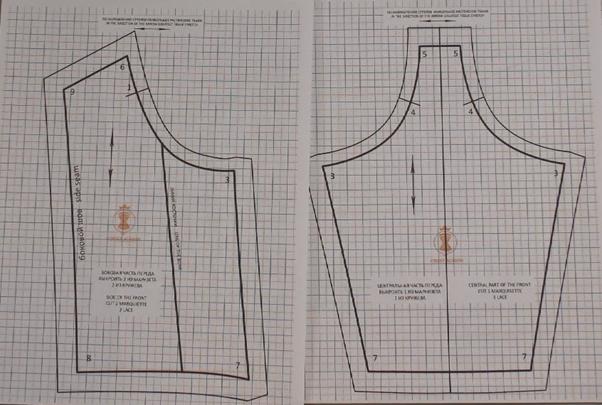 corset bustier pattern