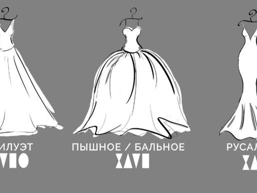 Выбор ИДЕАЛЬНОГО свадебного платья. Стили, фасоны и силуэты свадебных платьев.