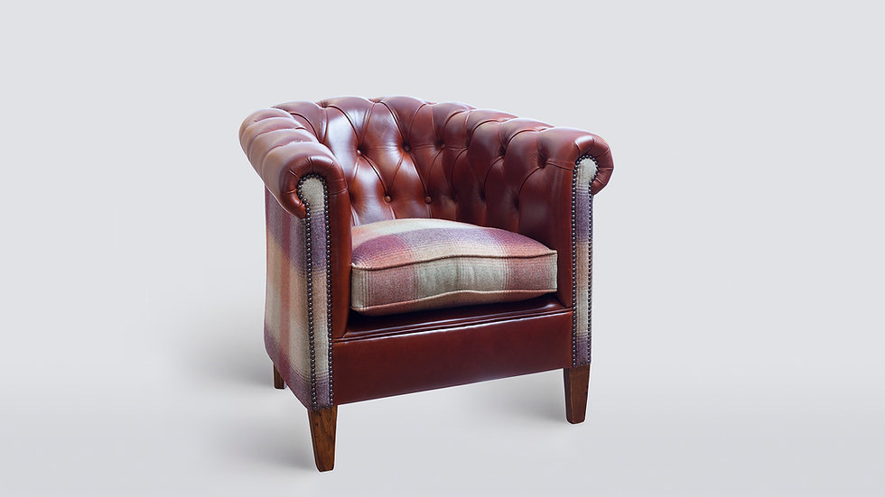 Byron Buttoned Chair From