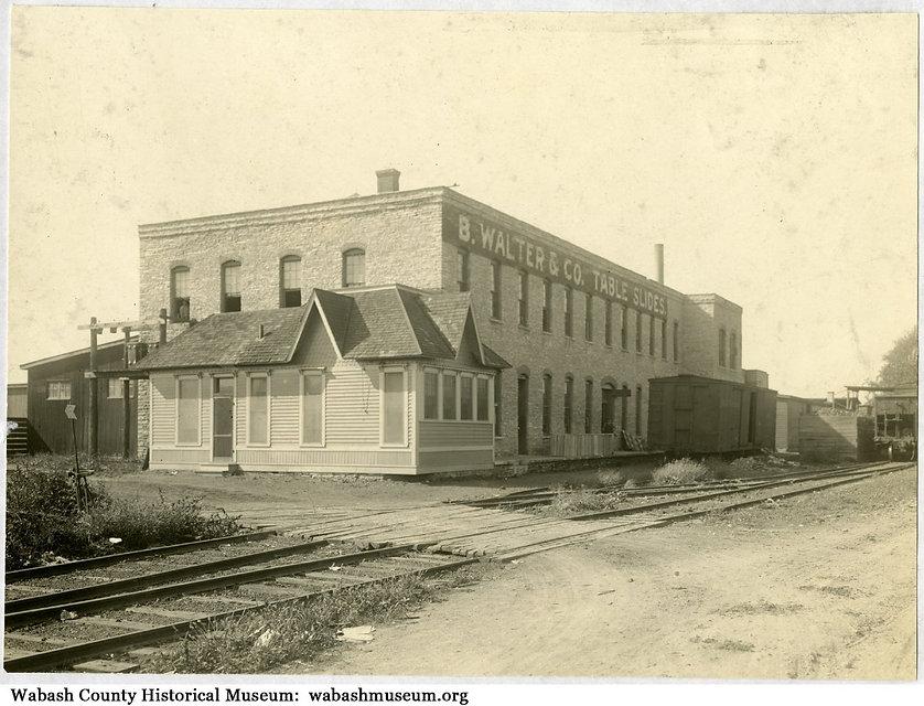 B. Walter factory in 1918